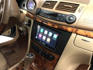 Mercedes E350 Apple CarPlay