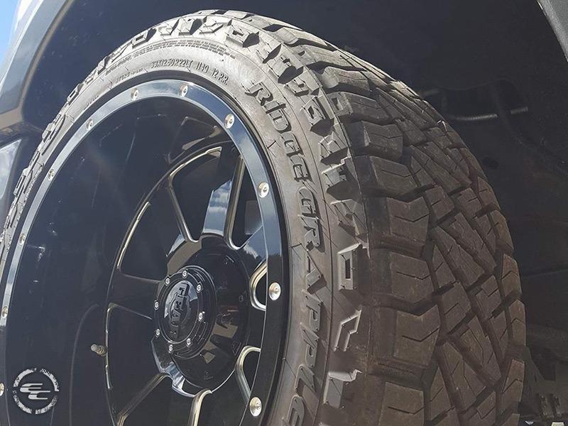 2013 Ford F 150 22x12 Gear Alloy Wheels 33x125R22 Nitto