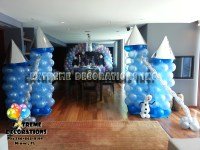 Party Decorations Miami | Frozen Party Decorations | Balloons