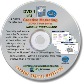 Creative Marketing DVD