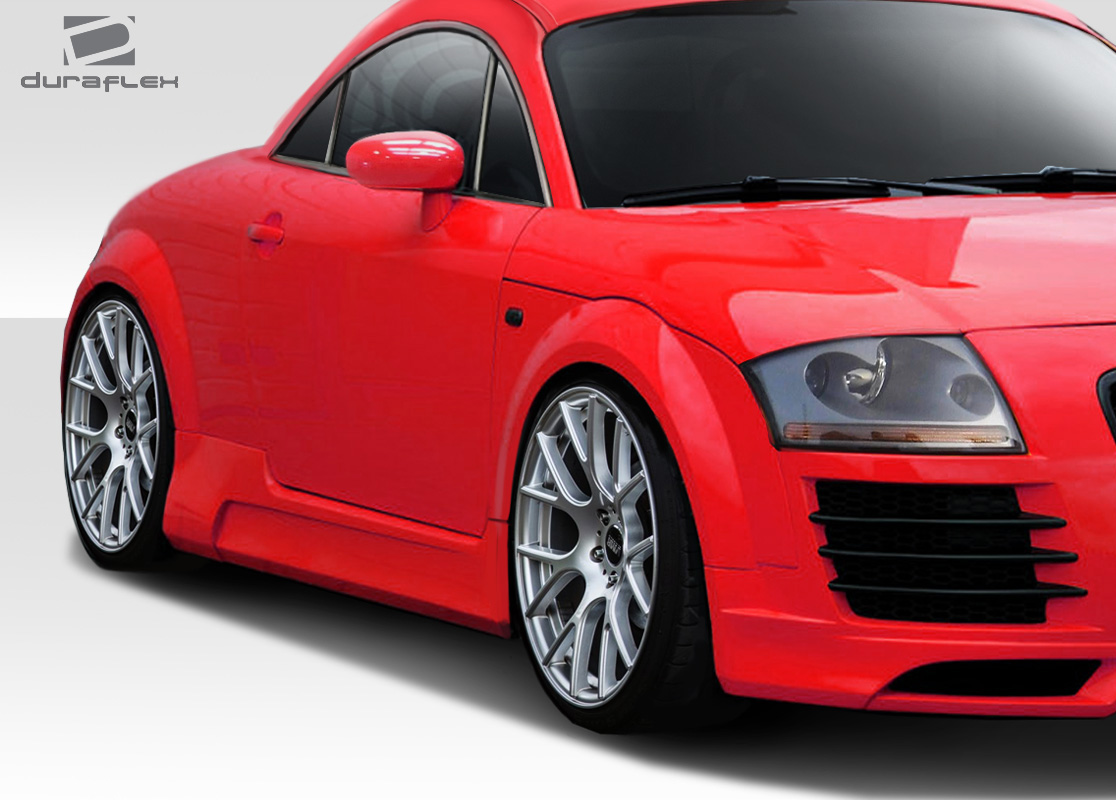 hight resolution of  fiberglass sideskirts body kit for 2000 audi tt 0 2000 2006 audi tt 8n