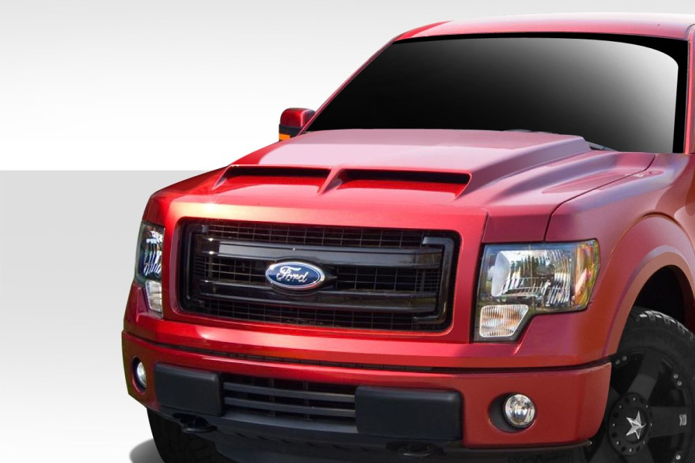 medium resolution of welcome to extreme dimensions inventory item 2009 2014 ford f 150 duraflex gt500 hood 1 piece