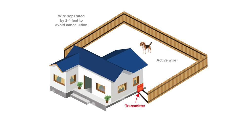 medium resolution of perimeter dog fence