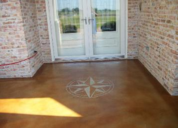 Acid concrete Stainingoverlay  commercial Epoxy Gallery