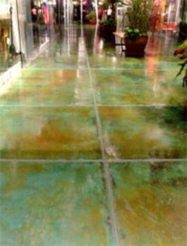 Acid concrete Stainingoverlay  commercial Epoxy Gallery