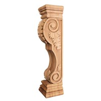 Fireplace Mantel Corbel Acanthus FCORB