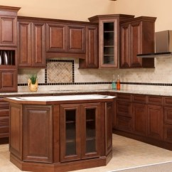 Kitchen Cabinets Rta Silicone Tools Brown Cabinet Sienna Free Shipping Charleston Saddle Or Fully Assembled