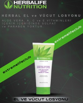 Herbal Aloe El ve Vücut Losyonu 200 ml