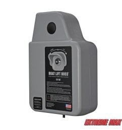 extreme max 3006 4512 boat lift boss direct drive system 120v w wireless remote [ 1200 x 1200 Pixel ]