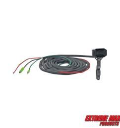 extreme max 5600 3175 universal waterproof atv winch handlebar remote rocker switch [ 1200 x 1200 Pixel ]