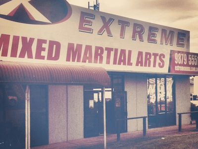 Extreme MMA Front