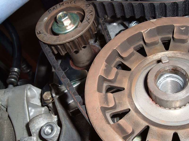The Balancer Shaft Must Be Held In Position During Timing Belt