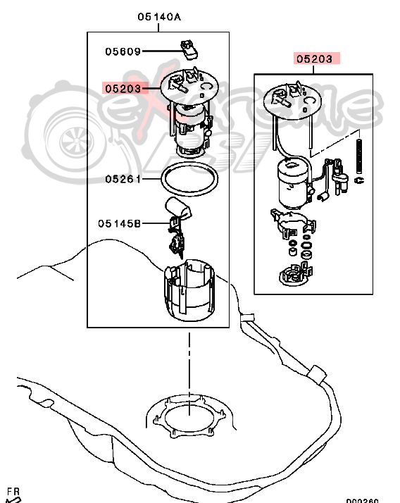 Circuit Electric For Guide: 2007 mitsubishi eclipse fuel