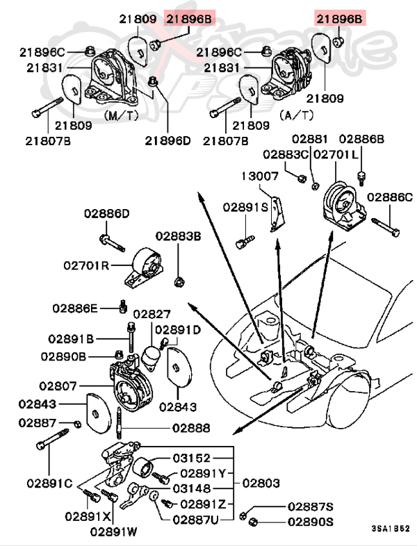 Mitsubishi Eclipse Engine Diagram