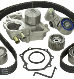 gates complete racing timing belt kit with water pump subaru wrx ej20 04 05 24394 [ 1500 x 970 Pixel ]