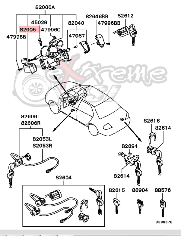 [DIAGRAM] 2000 Mitsubishi Eclipse Ignition Wiring Diagram