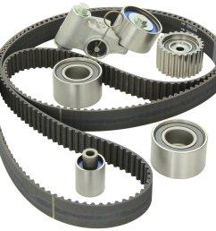 gates timing belt kit no water pump subaru wrx sti ej20 ej25 04 07 23574 [ 1500 x 1418 Pixel ]