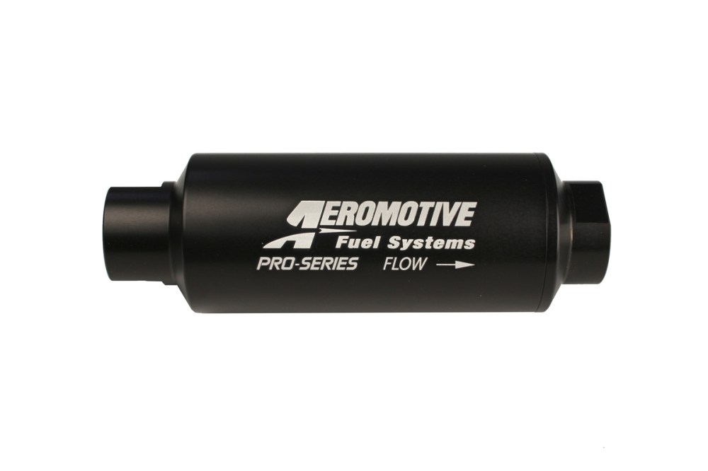 medium resolution of aeromotive pro series in line fuel filter 100 micron stainless steel element orb 12 ports