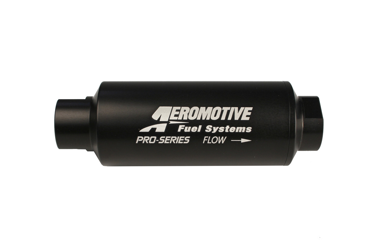 hight resolution of aeromotive pro series in line fuel filter 100 micron stainless steel element orb 12 ports