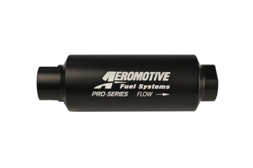 small resolution of aeromotive pro series in line fuel filter 100 micron stainless steel element orb 12 ports