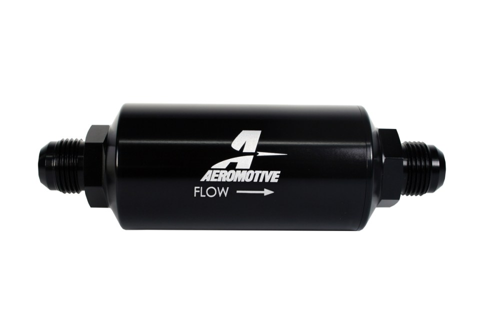 medium resolution of aeromotive in line fuel 100 micron stainless steel filter male 10an