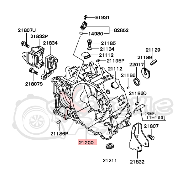 Mitsubishi Lancer 2008 Parts Diagram