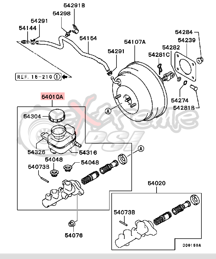 Service manual [2006 Mitsubishi Lancer Evolution Brake