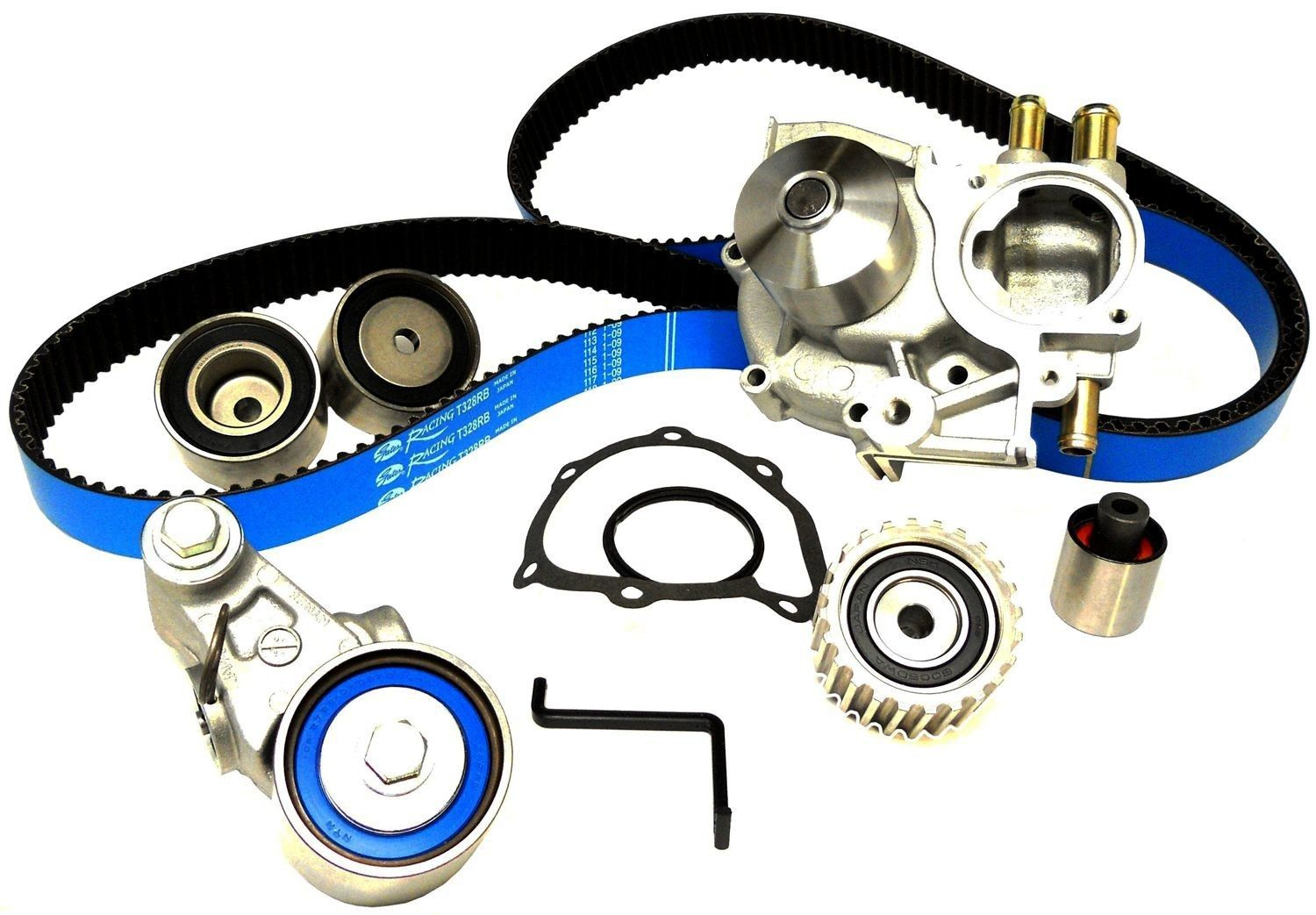 hight resolution of gates complete quot racing quot timing belt kit with water pump subaru wrx ej20 02 03 24393