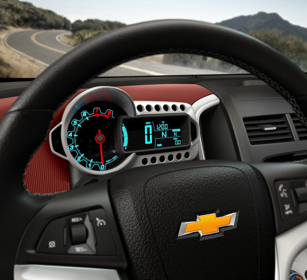 medium resolution of chevy sonic instrument panel