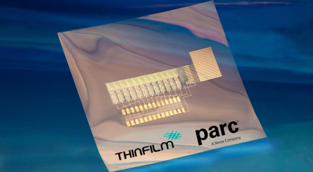 PARC/Thinfilm addressable memory computer circuit