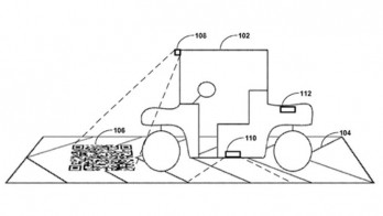 Google's self-driving car will use road-based QR codes to