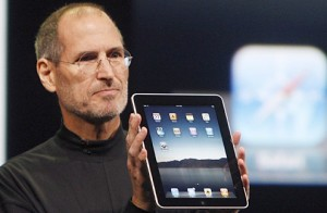 Steve Jobs and his iPad