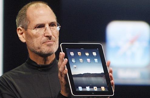 Steve Jobs and his iPad