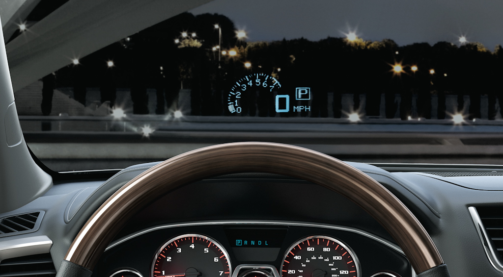 Gmc Denali Windshield Display