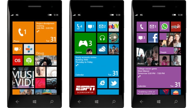 WP8 Home
