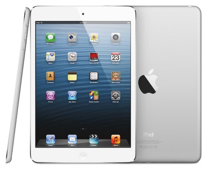iPad Mini, front, back, side