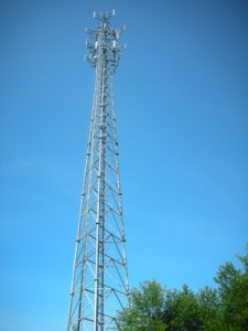 A very long cell tower
