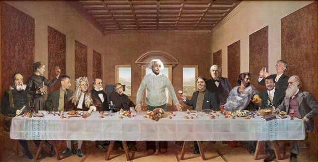 The geek/scientist last supper