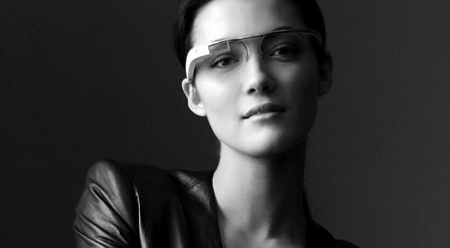 Google Glass, shadow girl