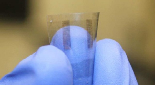 Transparent transistors, on transparent nanopaper
