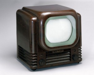 An early television: It would've seemed incredibly alien to our grandparents