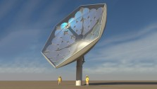 IBM/Airlight solar concentrator (artist impression)