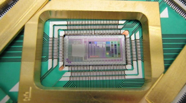 D-Wave's 128-qubit quantum processor