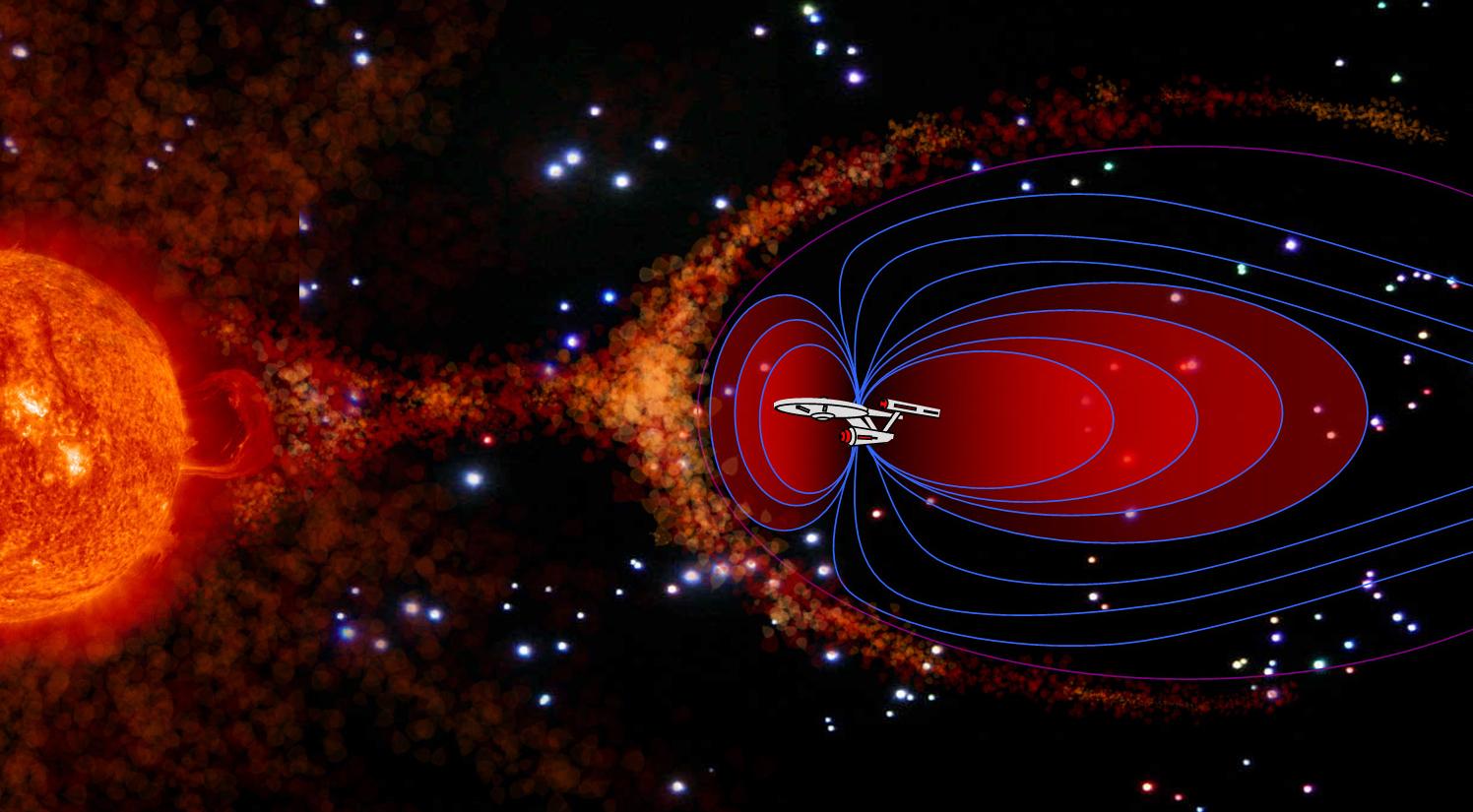 Scientists Produce Star Trek Like Deflector Device For