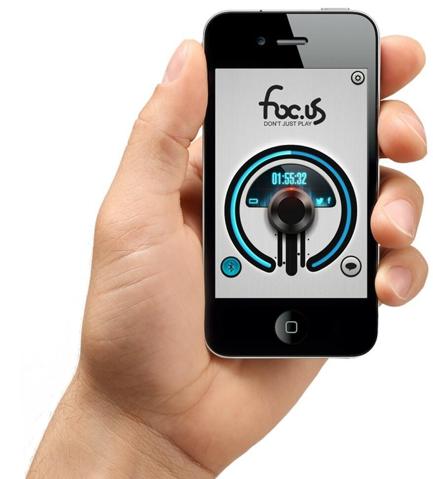 Foc.us headset iOS app