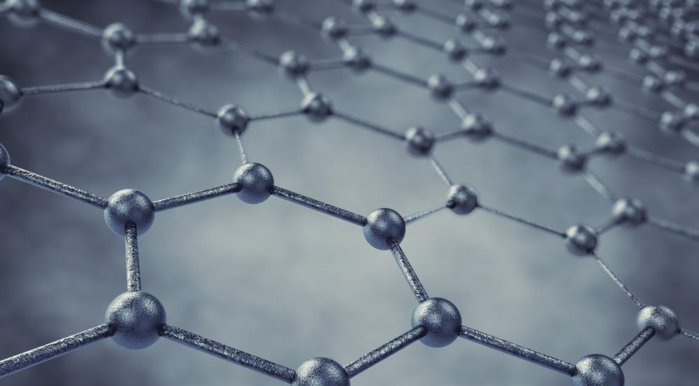 Graphene, as metal hexagon things
