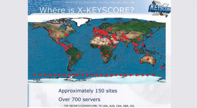 Where is NSA's XKeyscore located?