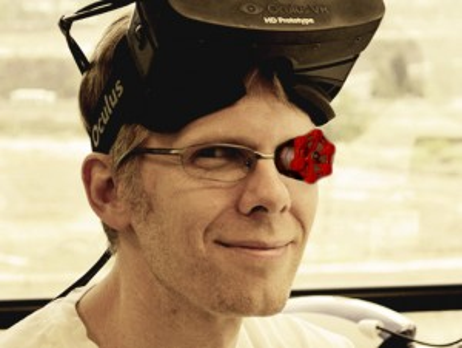John Carmack, Valve Eye