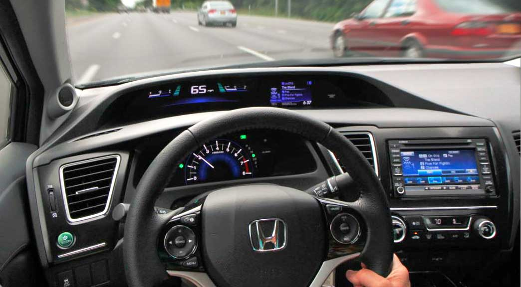 2014 Honda Civic Review An Almost HUD Without The 1000