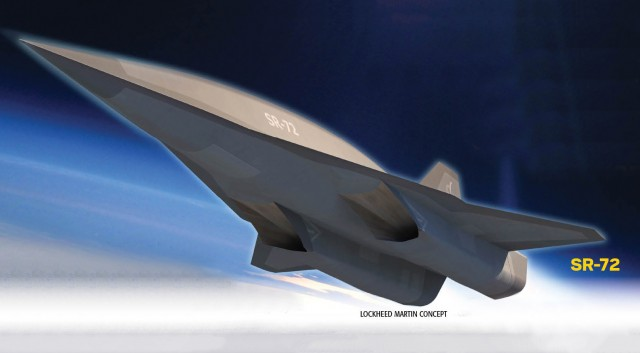 SR-72 concept from Lockheed Martin